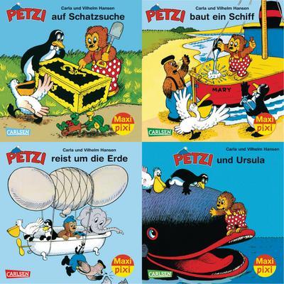 Maxi-Pixi-Serie Nr. 34: Petzi. 4 x 5 Exemplare