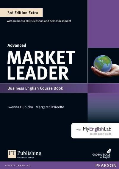 Market Leader Extra Advanced Coursebook with DVD-ROM and MyEnglishLab Pack