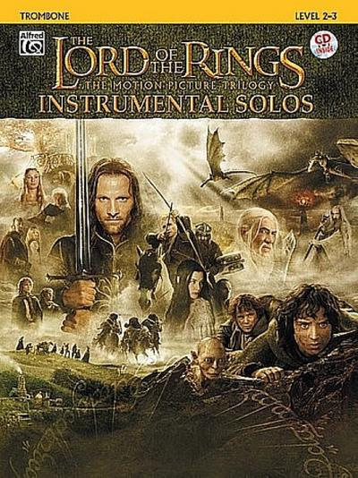 The Lord of the Rings: The Motion Picture Trilogy Instrumental Solos: Trombone: Level 2-3 [With CD (Audio)]