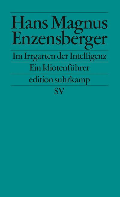 Im Irrgarten der Intelligenz: Ein Idiotenführer (edition suhrkamp)