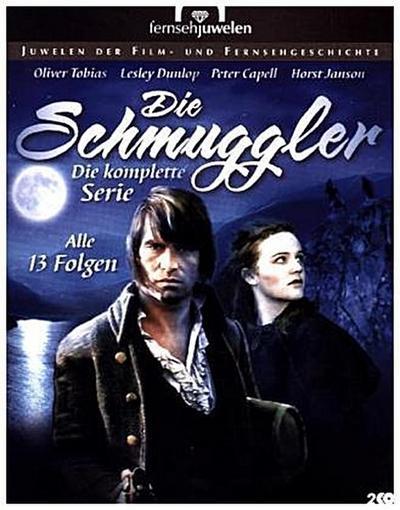 Die Schmuggler - Die komplette Serie (Alle 13 Folgen), 2 DVDs