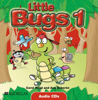 Little Bugs 1. 2 Audio-CD's