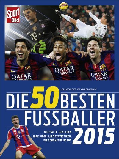 Die 50 besten Fußballer 2015: Weltweit. Ihr Leben. Ihre Siege. Alle Statistiken. Die schönsten Fotos