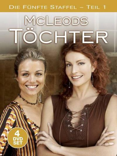 McLeods Töchter  Staffel 5, 4 DVD-Videos, deutsche u. englische Version