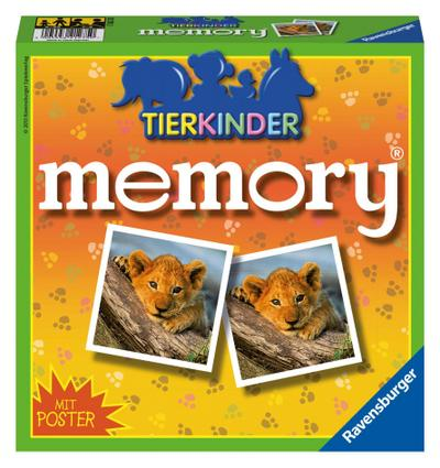 Tierkinder memory (Kinderspiel)