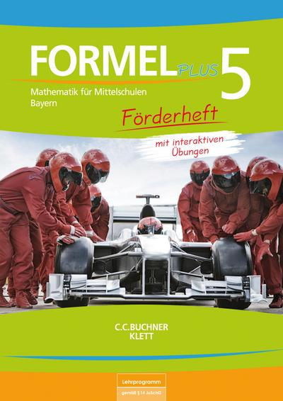 Formel PLUS 5 Förderheft