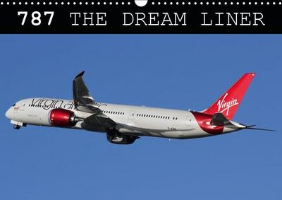 787 - The Dream Liner (Wall Calendar 2019 DIN A3 Landscape)