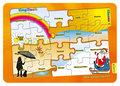 Lernpuzzle Englisch - Die Jahreszeiten, Klasse 1