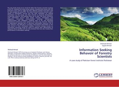 Information Seeking Behavoir of Forestry Scientists
