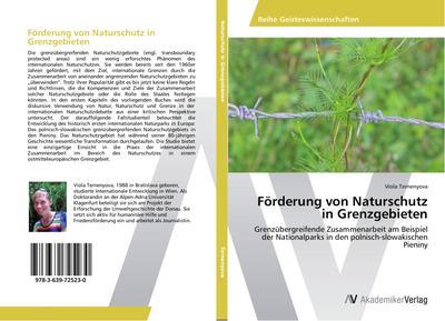Förderung von Naturschutz in Grenzgebieten
