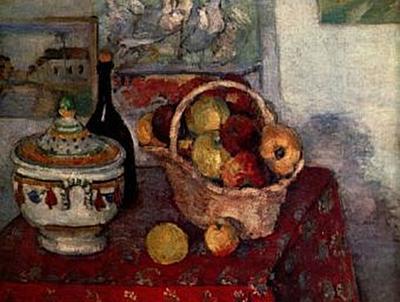 Paul Cézanne - Stilleben mit Suppenterrine - 1.000 Teile (Puzzle)