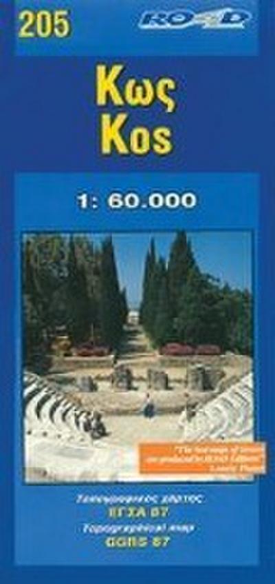 Kos 1 : 60 000