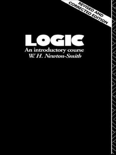 Logic: An Introductory Course