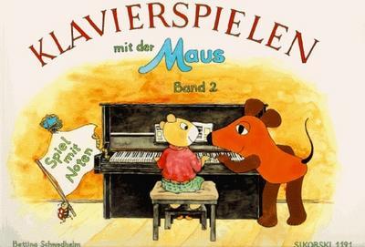 Klavierspielen mit der Maus 2. Spiel mit Noten