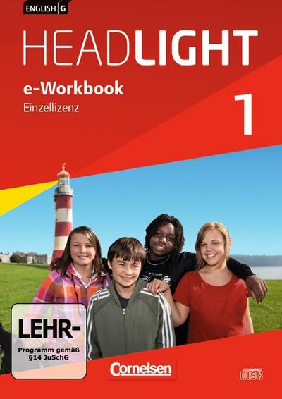 English G Headlight 01: 5. Schuljahr. e-Workbook auf CD-ROM