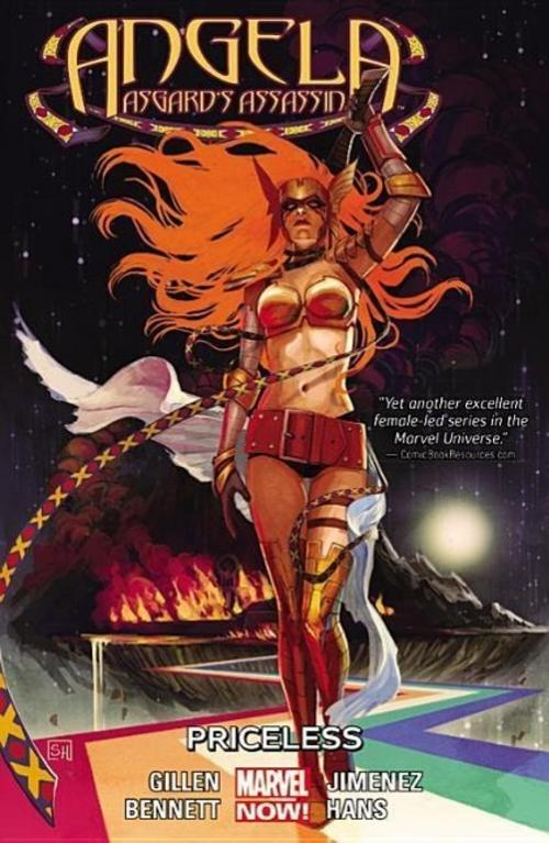 Marguerite Bennett ~ Angela: Asgard's Assassin Vol. 1: Priceless 9780785193562
