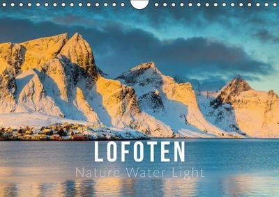 Lofoten. Nature Water Light (Wall Calendar 2019 DIN A4 Landscape)