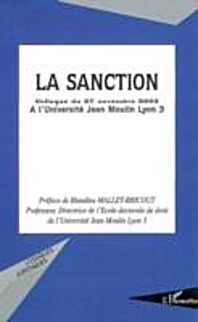 Sanction colloque du 27 novembre 2003 a