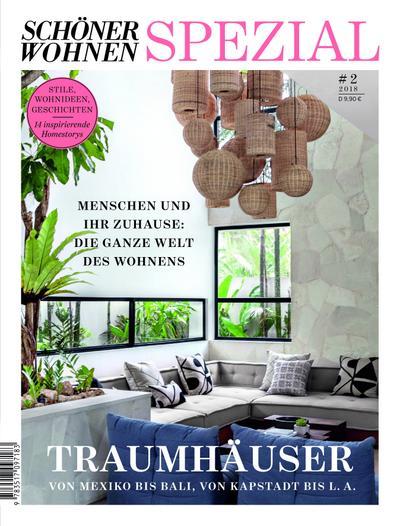 Schöner Wohnen Spezial - Traumhäuser. Ausg. 2/2018