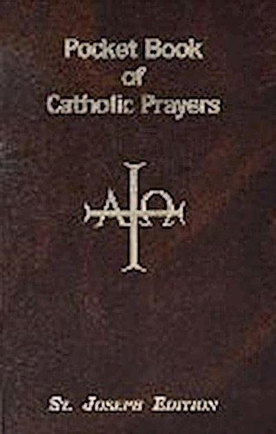 PCKT BK OF CATH PRAYERS