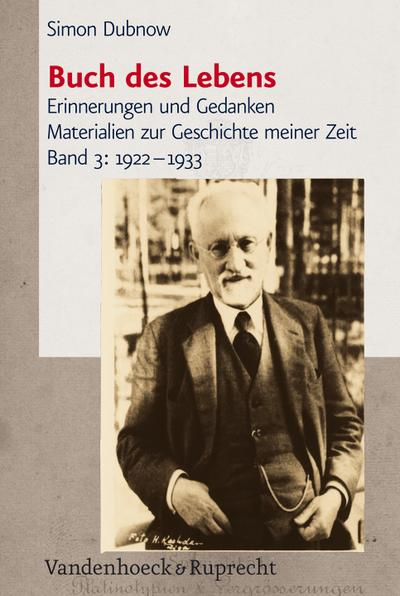 Buch des Lebens 3. 1922 - 1933