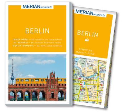 Berlin: MERIAN momente - Mit Extra-Karte zum Herausnehmen