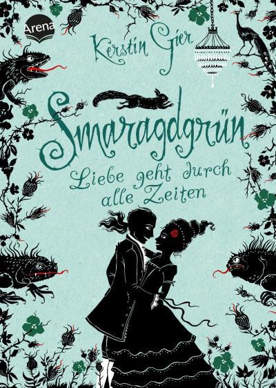 Smaragdgrün - Liebe geht durch alle Zeiten (3)   ; Kerstin Gier Fantasy-Romane; Deutsch; , Mit geprägtem Schutzumschlag