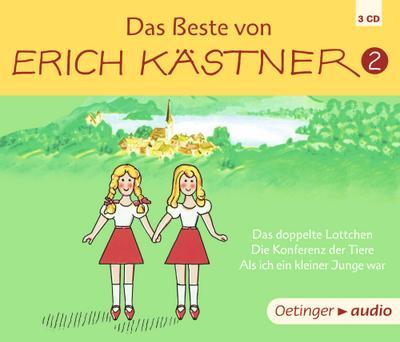 Das Beste von Erich Kästner 2 (3 CD)