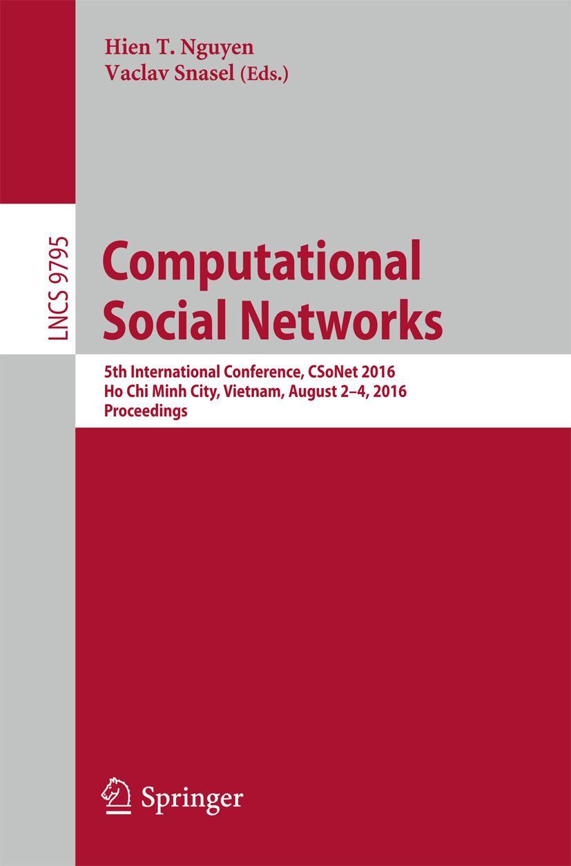 Computational Social Networks Hien T. Nguyen