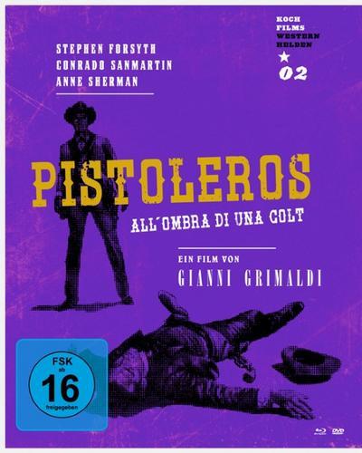 Pistoleros (Westernhelden 02). Blu-ray und DVD