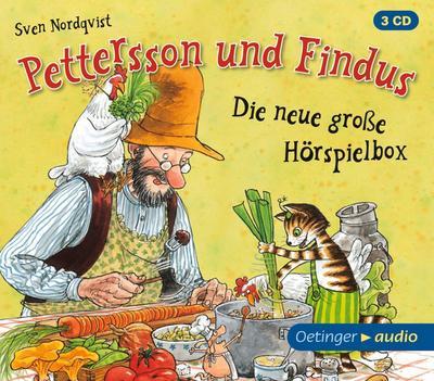 Pettersson Und Findus-Die Neue Gr.Hörspielbox