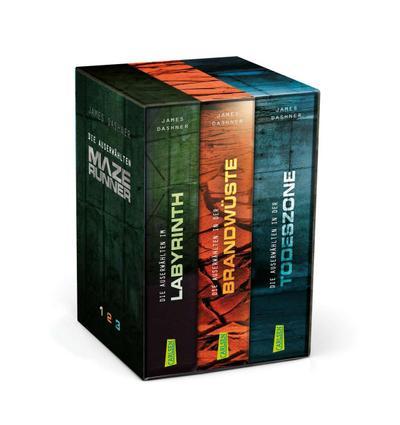 Maze Runner - Die Auserwählten. Band 1-3 im Schuber