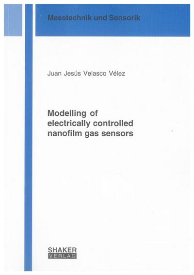 Modelling of electrically controlled nanofilm gas sensors