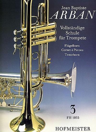 Vollständige Schule für Trompete 3