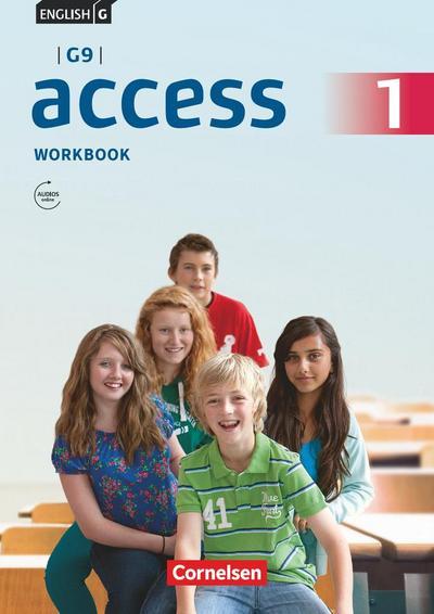 English G Access - G9 - Band 1: 5. Schuljahr - Workbook mit Audios online und MyBook