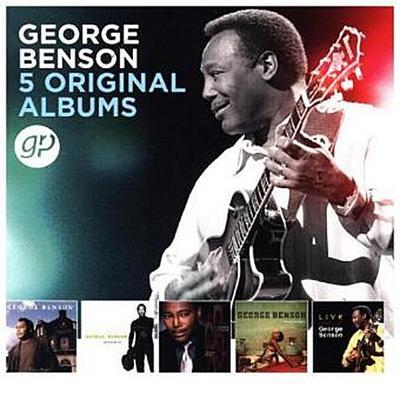 5 Original Albums, 5 Audio-CDs