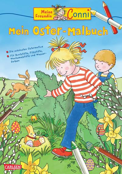 Conni Gelbe Reihe: Mein Oster-Malbuch