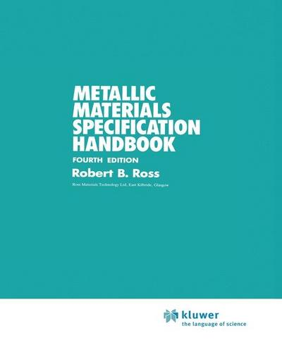 Metallic Materials Specification Handbook