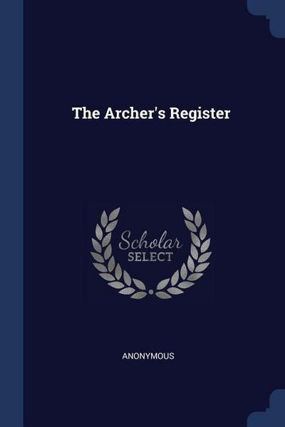 The Archer's Register