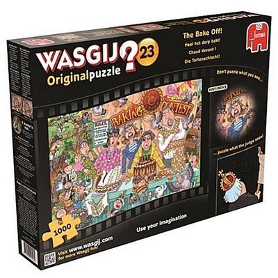 Wasgij Original 23 - Die Tortenschlacht -  Puzzle 1000 Teile