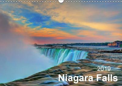 Niagara Falls 2019 (Wall Calendar 2019 DIN A3 Landscape)