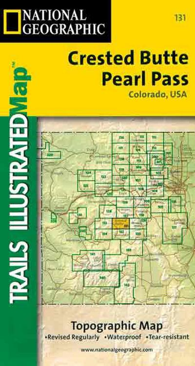 Trails Illustrated - Colorado-Crested Butte/Prl Pass