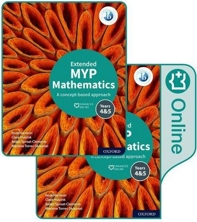 MYP Mathematics 4&5 Extended Print and Enhanced Online Book Pack