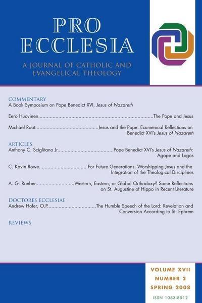 Pro Ecclesia Vol 17-N2
