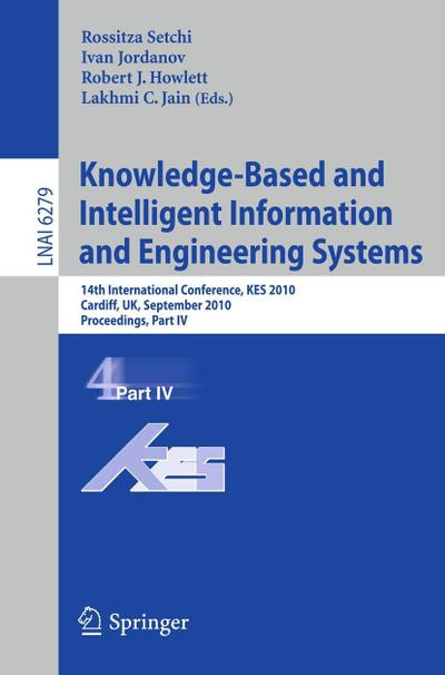 Knowledge-Based and Intelligent Information and Engineering Systems