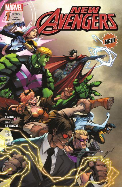 New Avengers 1 Al Ewing 9783957988423