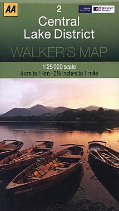 Walker's Map 02 Lake District 1 : 25 000
