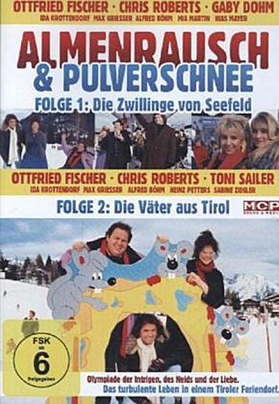Almenrausch und Pulverschnee - Folge 1: Die Zwillinge von Seefeld & Folge 2: Die Väter aus Tirol