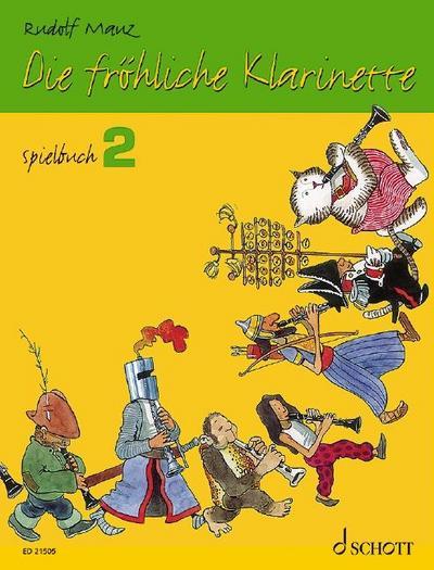 Die fröhliche Klarinette. Spielbuch 02