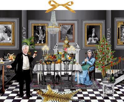 Christmas Dinner for One, Zettel-Adventskalender